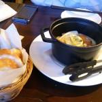 前菜「パーナ貝の白ワイン蒸し」